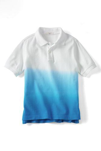 Little Boys' Dip-dye Piqué Polo
