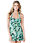 Women's Regular Beach Living Halter Dresskini - Paisley