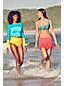 Bas de Maillot Beach Living Taille Haute Effet Ventre Plat Uni Femme, Grande Taille
