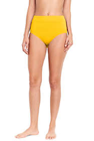 Women's High Waisted Bikini Bottoms with Tummy Control