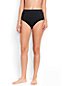 Women's Plus Beach Living High Waist Tummy Control Bikini Bottoms