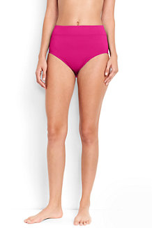 Women's Beach Living High Waist Tummy Control Swim Bottoms