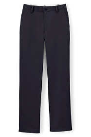 Men's Traditional Plain Front Chino Pants