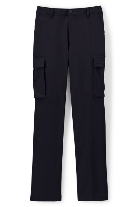 Men's Traditional Plain Front Cargo Pants