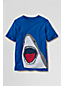 Little Boys' Short Sleeve Appliqué Graphic Tee