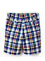 Boys' Plaid Cadet Shorts