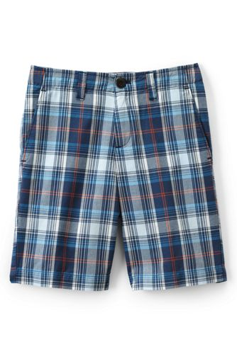 Little Boys' Plaid Cadet Shorts