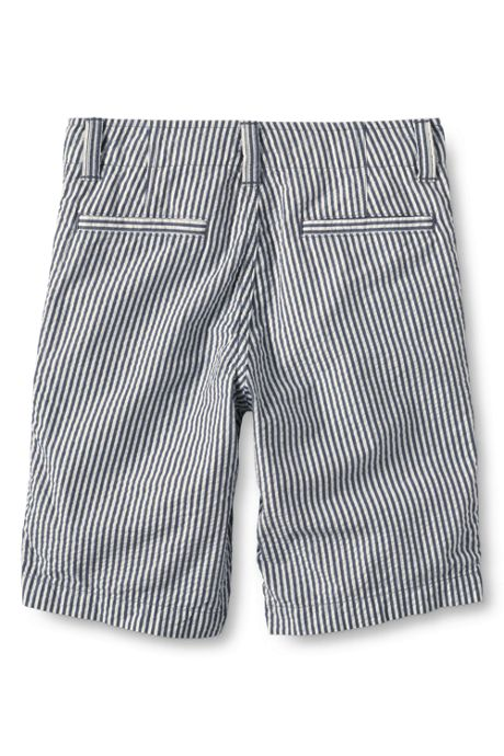 School Uniform Little Boys Seersucker Cadet Shorts