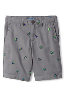 Boys' Patterned Cadet Shorts