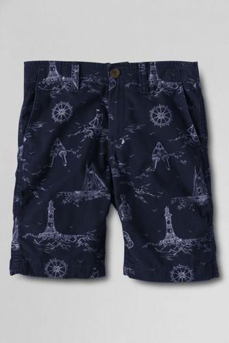 Little Boys' Patterned Cadet Shorts