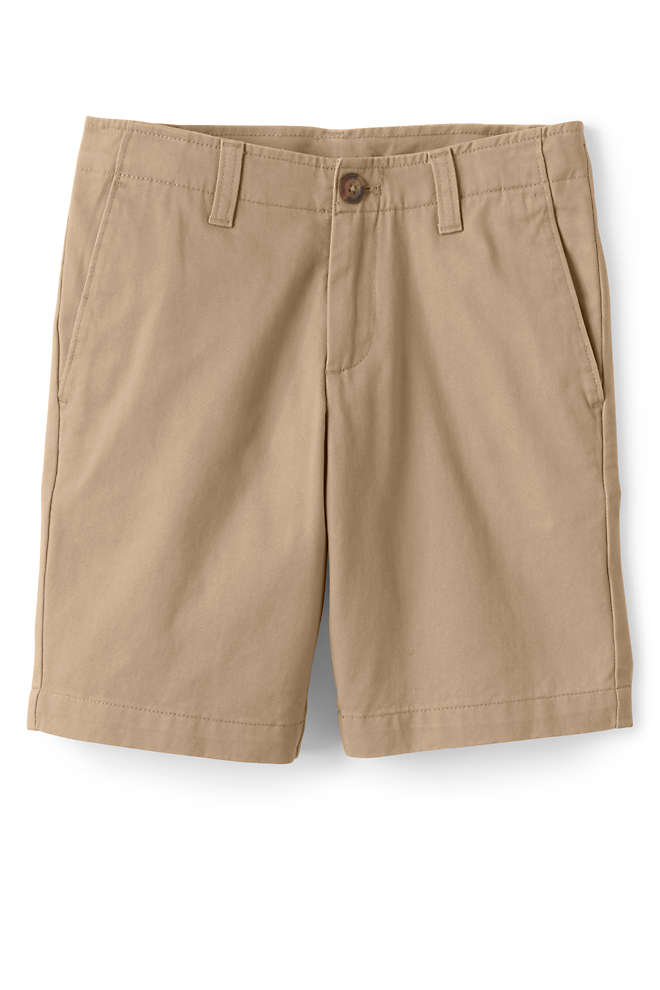 School Uniform Boys Husky Chino Cadet Shorts, Front