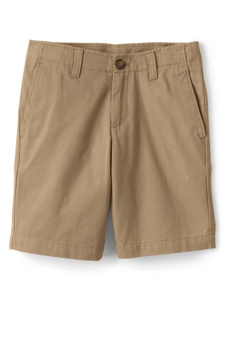 School Uniform Little Boys Slim Chino Cadet Shorts