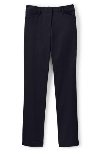 Women's Plain Straight Leg Chino Pants