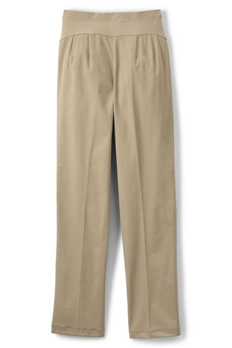 Maternity Straight Fit Plain Front Straight Leg Chino Pants