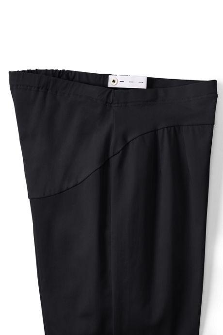 Women's Maternity Straight Fit Plain Chino Pants