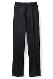 Women's Plus Size Straight Fit Plain 7 Day Chino Pants