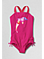 Little Girls' Bohemian Beach Graphic Swimsuit