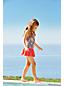 Neckholder-Badeanzug mit Rock für kleine Mädchen