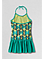 Little Girls' Bohemian Beach Skirted Swimsuit
