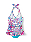 Little Girls' Sea Garden Skirted Swimsuit