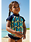 Little Girls' Bohemian Beach Swim Tee Tankini