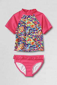 Girls' Bohemian Beach Swim Tee Tankini