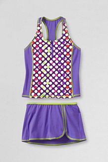 Girls' Smart Swim Racerback Tankini SwimMini Set