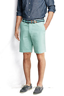 Men's Classic Fit Lighthouse Plain Front Chino Shorts