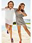 Verzierte Strandtunika für kleine Mädchen