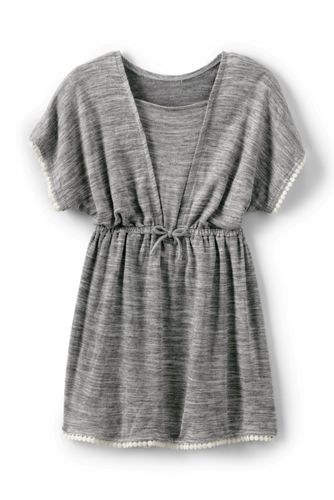 Little Girls' Tunic Cover-up