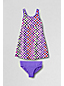 Little Girls' Smart Swim Printed Swim Dress Set