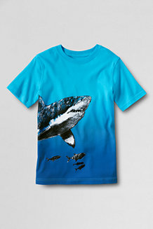 Boys' Dip Dye Graphic Tee