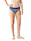 Women's Regular Beach Living Mid Rise Print Bikini Bottoms