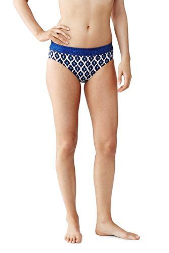 Beach Living Bikini-Hose mit Schmeichelbund Geblümt