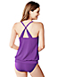 Women's Regular DD-Cup Beach Living Blouson Tankini Top