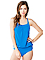 Women's Regular Beach Living Blouson Tankini Top