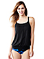 Women's Beach Living Scoop Neck Mastectomy Blouson Tankini Top