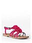 Girls' Arabella Flower Dress Sandals