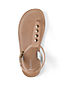 Girls' Athena Studded Dress Sandals