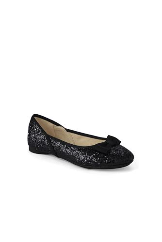Girls' Glitter Ballet Pumps