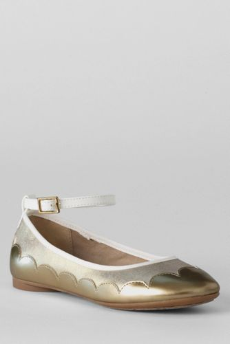 Girls' Piper Ankle Strap Ballet Pumps