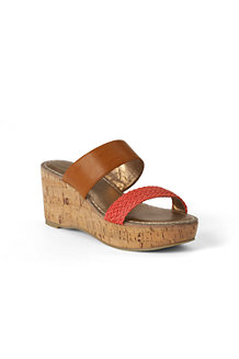 Women's Della Mid-wedge Mule Sandals