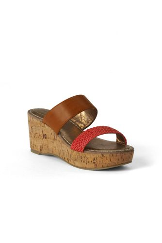 Women's Regular Della Mid-wedge Mule Sandals