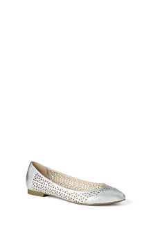 Women's Irina Perforated Ballet Pumps