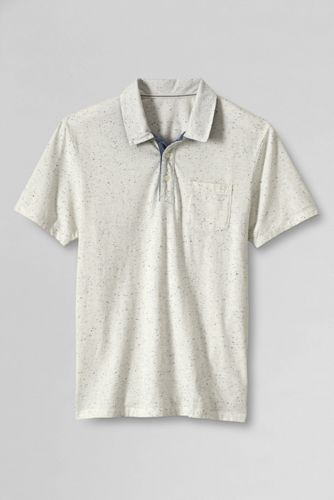 Seaworn™ Meliertes Polo-Shirt, Slim Fit