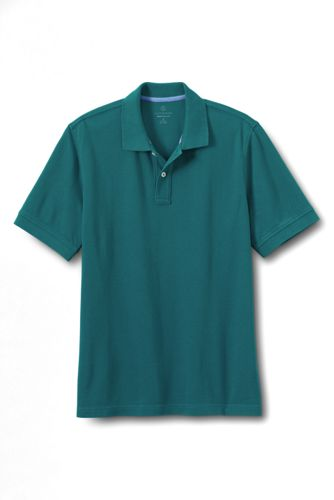 Men's Regular Traditional Fit Piqué Polo