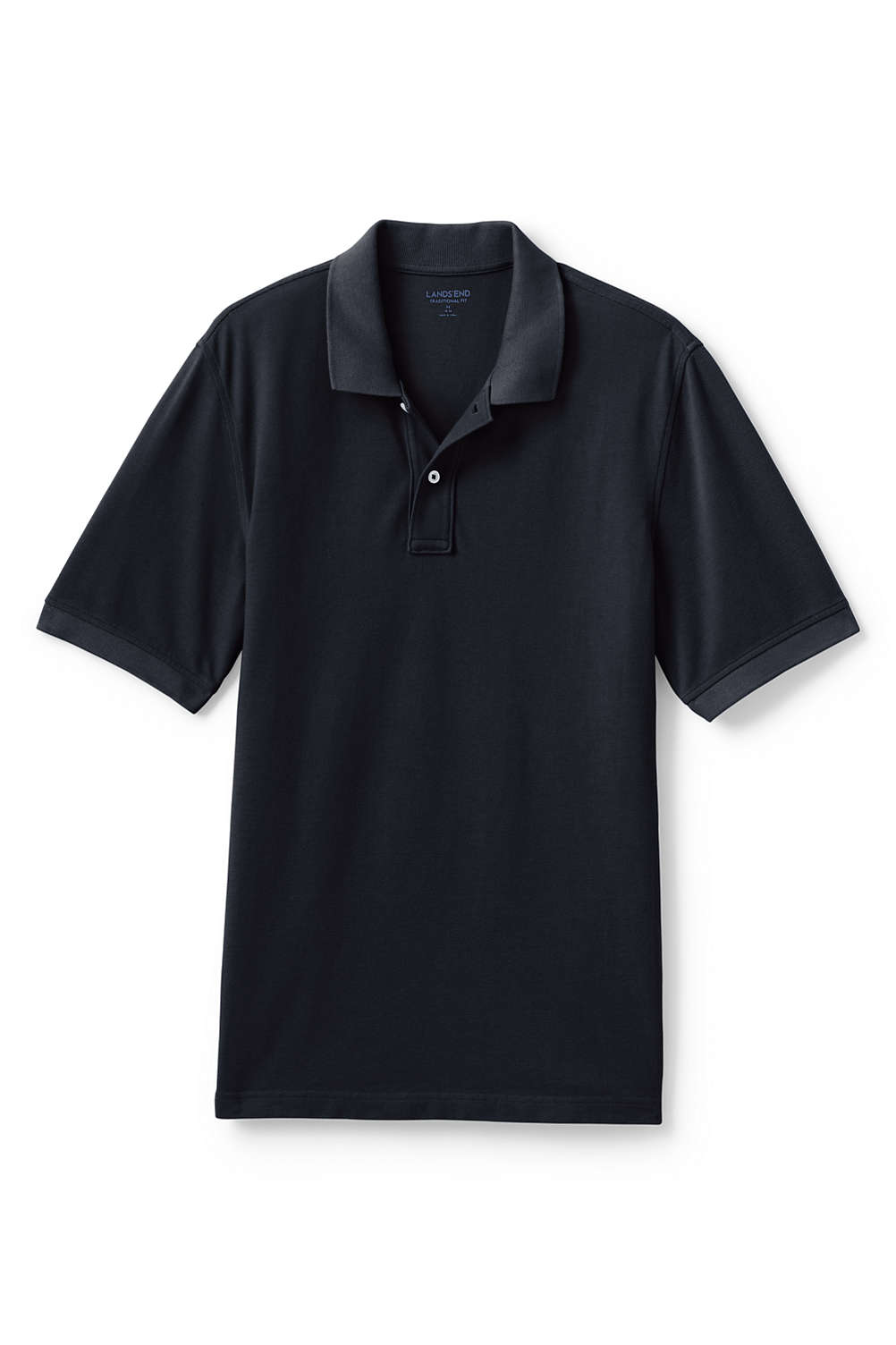 Mens Mesh Short Sleeve Polo Shirt From Lands End