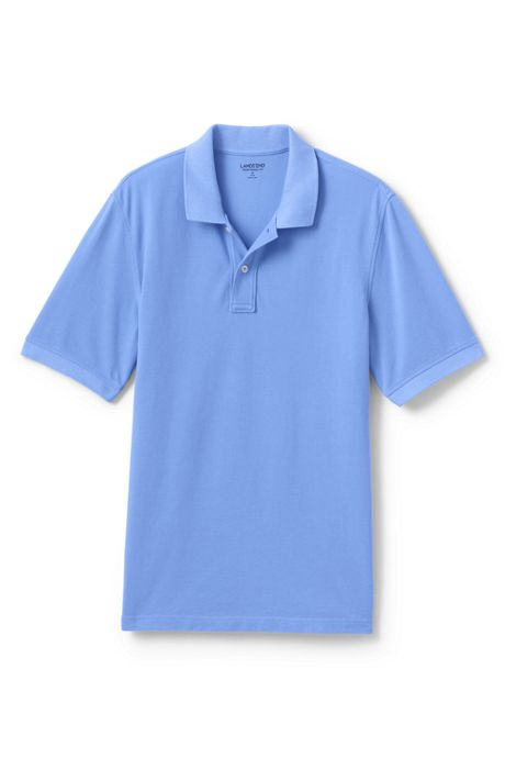 Men's Big and Tall Mesh Short Sleeve Polo Shirt