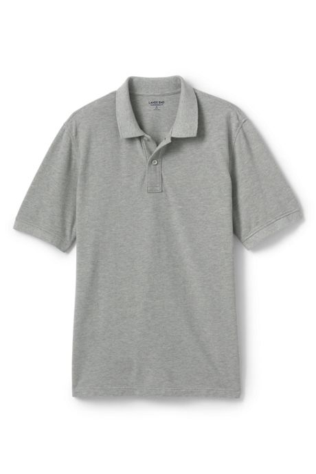 Men's Mesh Short Sleeve Polo Shirt