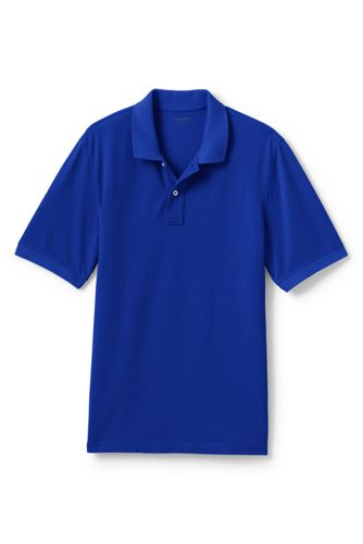 Men's Piqué Polo Shirt, Traditional Fit